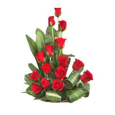 red-roses-arrangement-kochi